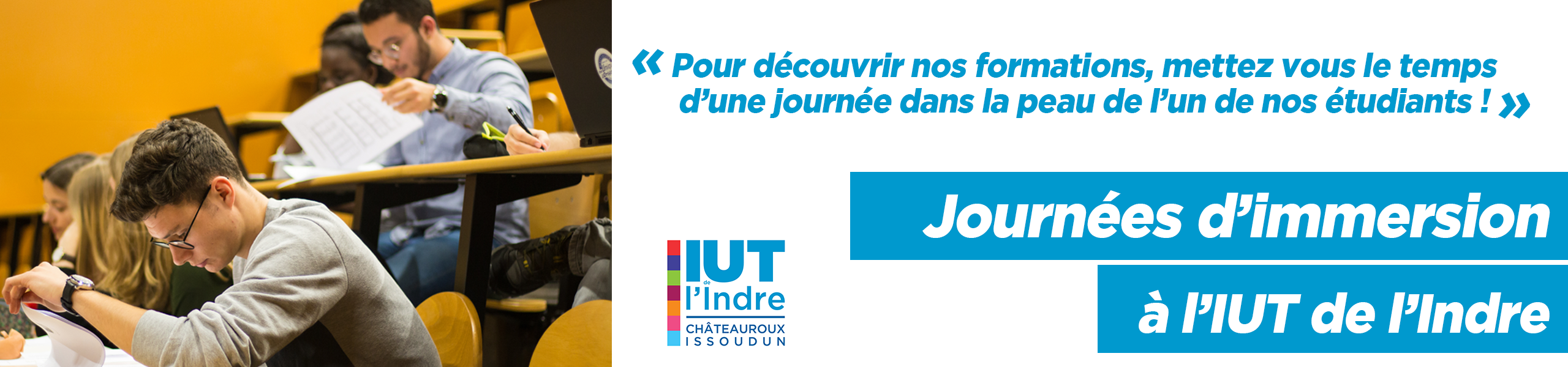 Journée Immersion DUT  - IUT Indre - R