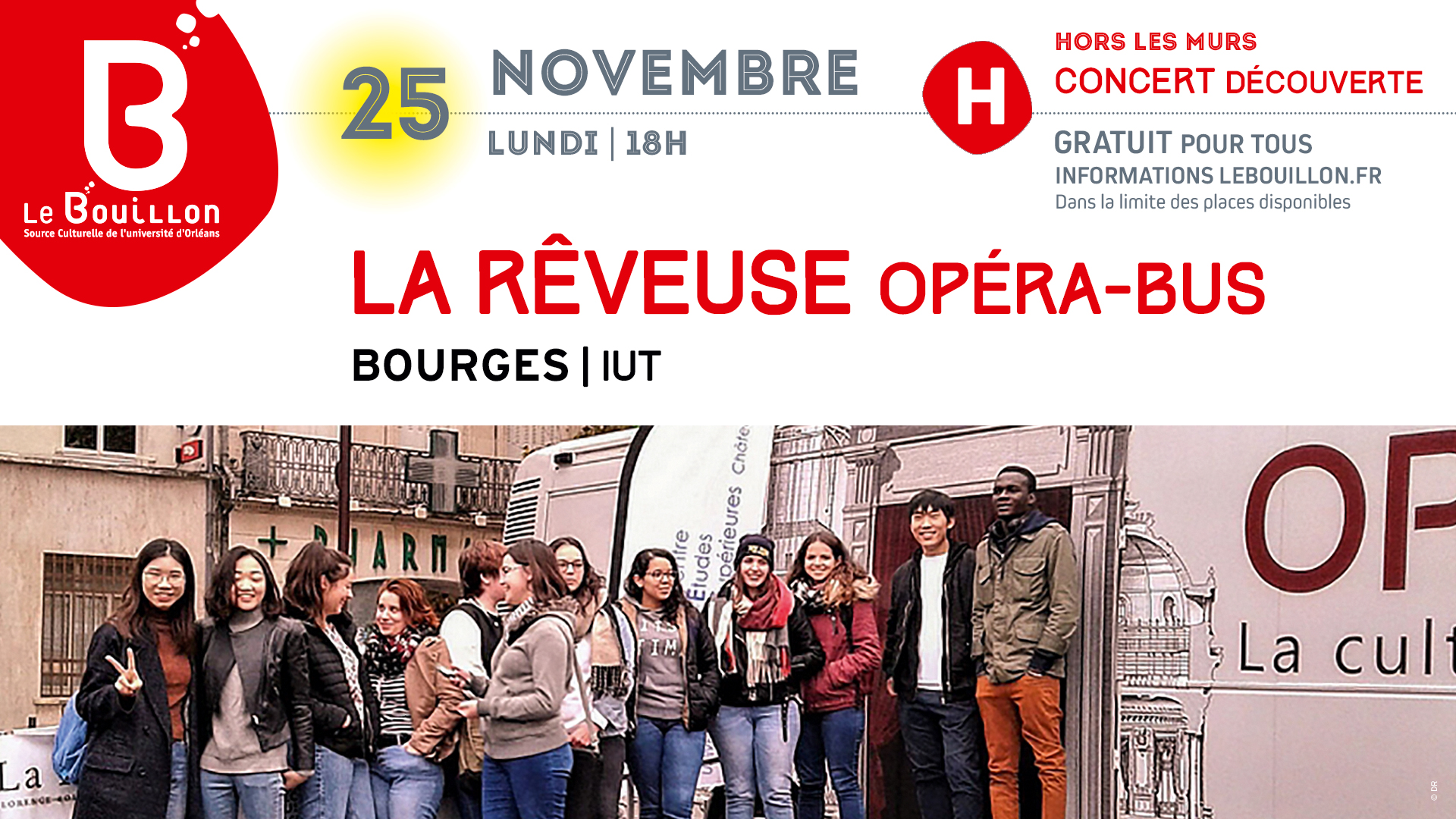 Opera bus bourges