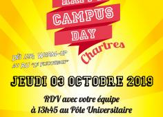 Affiche Happy Campus Day - Chartres 2019
