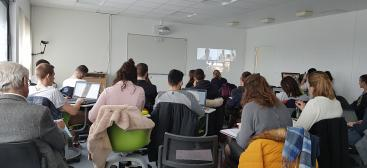 salle de formation du Learning Lab
