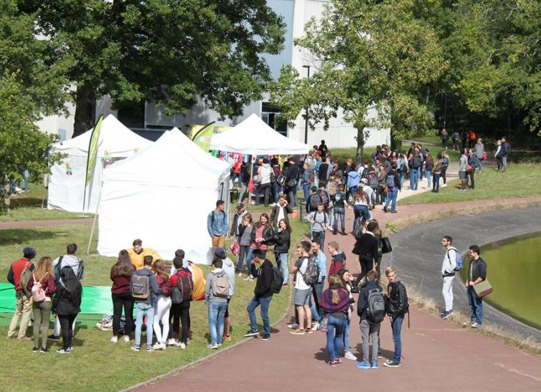 Une vue du Happy Campus Day en septembre 2017