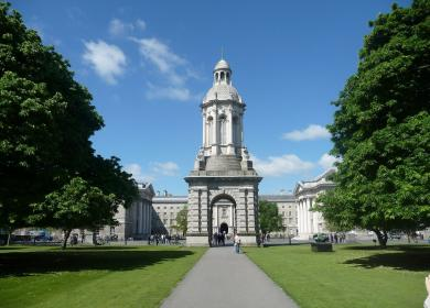 Trinity College of Dublin Crédits Photo parh s pixabay